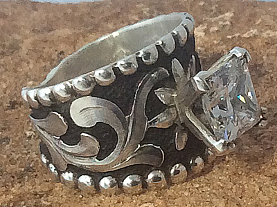 Fancy Sterling Silver Ring